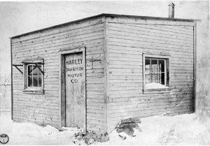 Photo of the Harley Davidson Motor Company (1903)